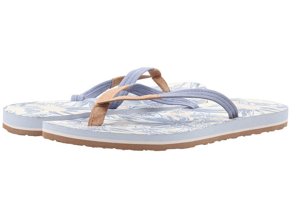 UGG Magnolia Island Floral Tropical Stonewash Womens Sandals