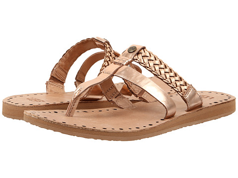 Ugg Audra Rose Gold Leather 6pm Com
