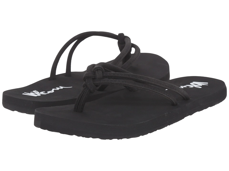 Volcom Kids Forever and Ever Little Kid/Big Kid Black Girls Shoes