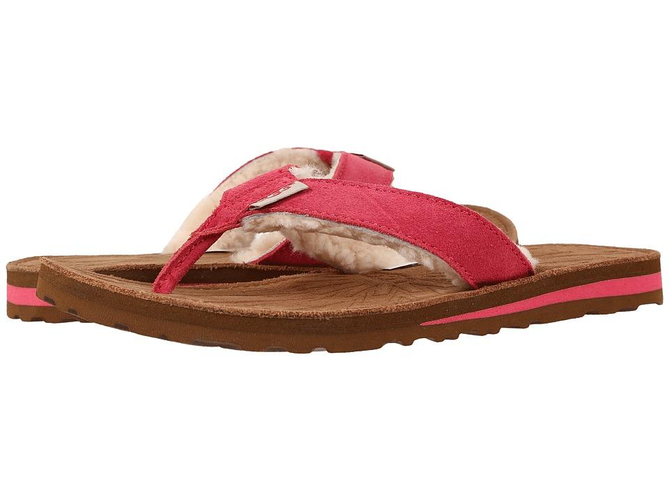 UGG Tasmina (Sunset Red Suede) Sandals