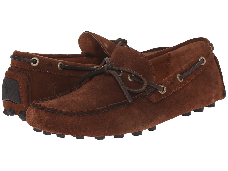 Frye - Russel Tie (Brown Oiled Suede) Men