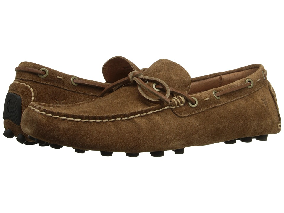Frye - Russel Tie (Tan Oiled Suede) Men