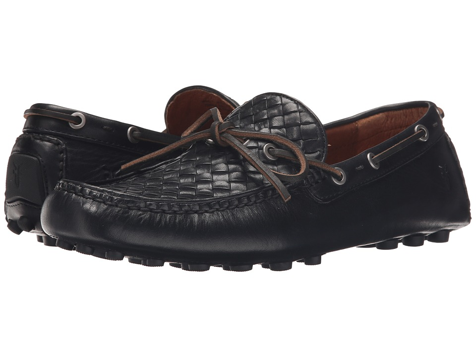 Frye - Russell Woven (Black Oiled Vintage) Men