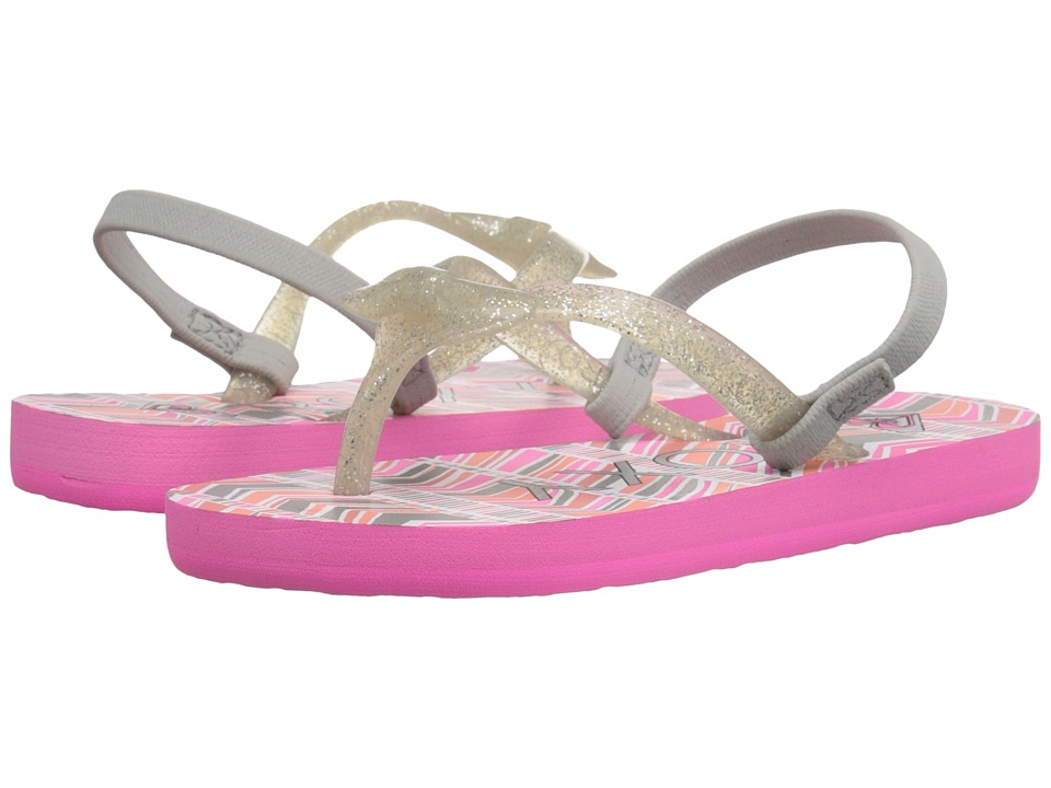 Roxy Kids Fifi Toddler Pink Carnation Girls Shoes