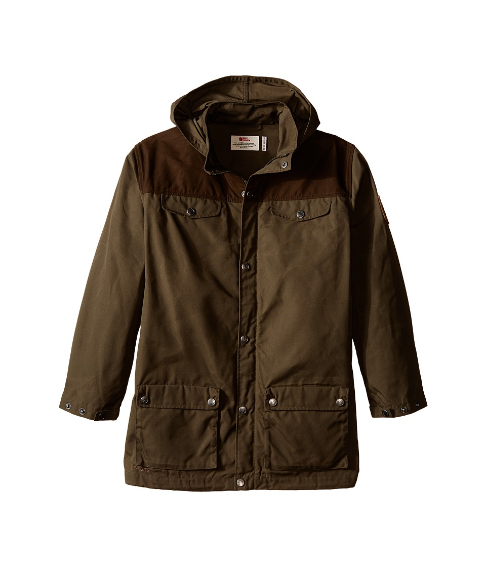 Fj llr ven Kids Kids Greenland Jacket Tarmac/Dark Olive Kids Coat
