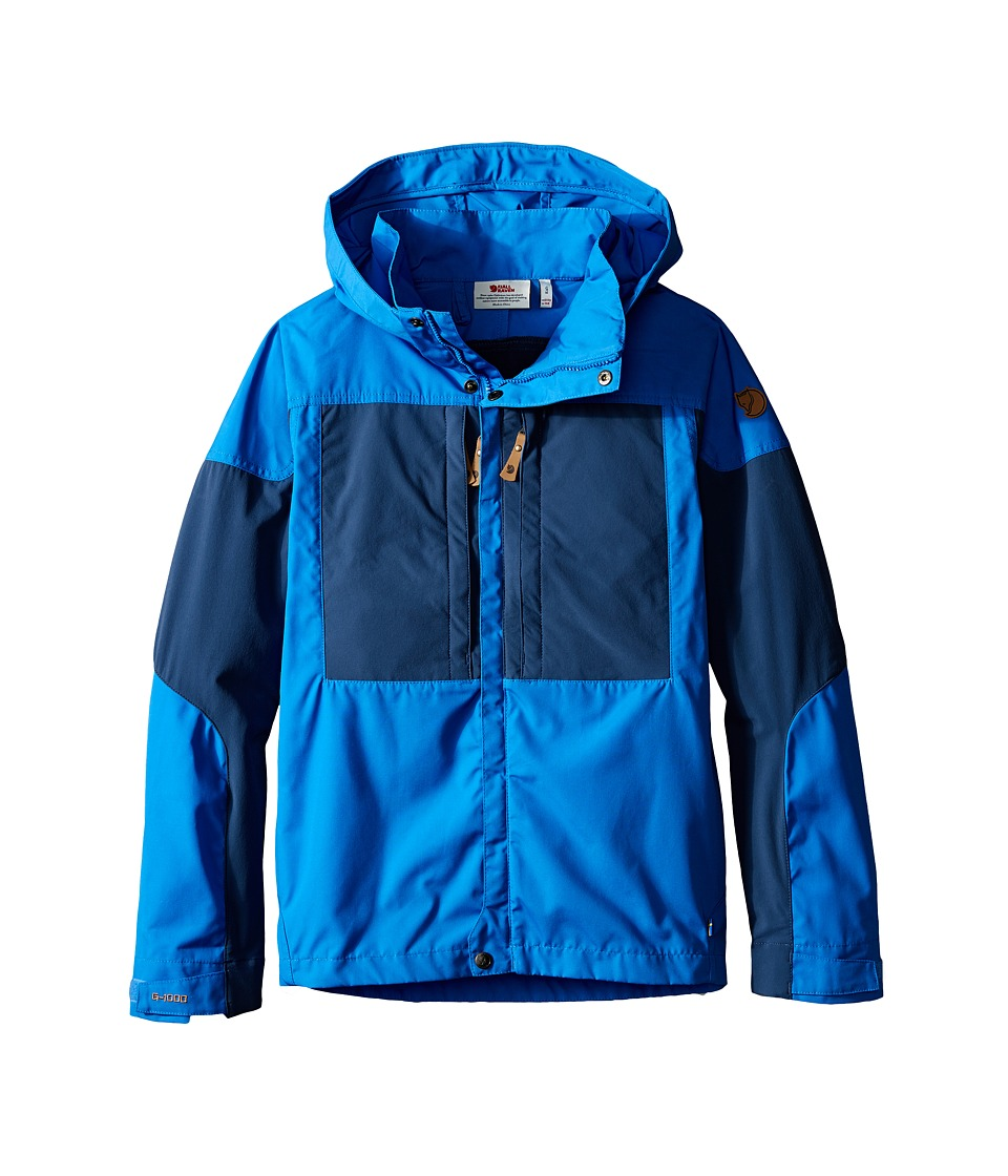 Fj llr ven Kids Kids Keb Jacket Uncle Blue/Uncle Blue Kids Coat