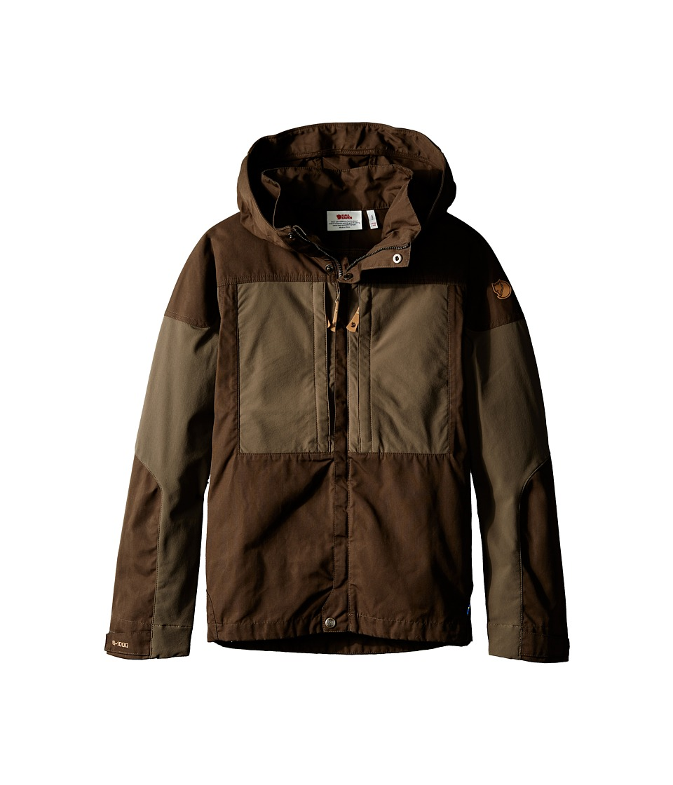 Fj llr ven Kids Kids Keb Jacket Dark Olive/Tarmac Kids Coat