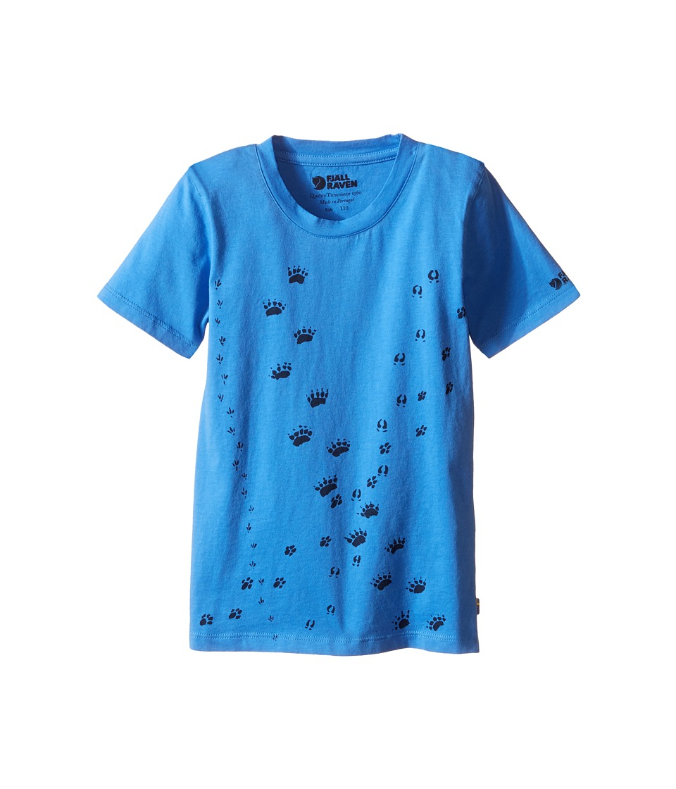Fj llr ven Kids Kids Animal Tracks T Shirt Uncle Blue/Navy Kids Short Sleeve Pullover