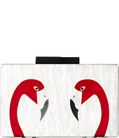 Jessica McClintock - Dos Flamingos Clutch