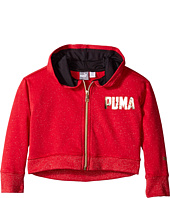 Puma Kids - Shimmer Fleece Hoodie (Little Kids)