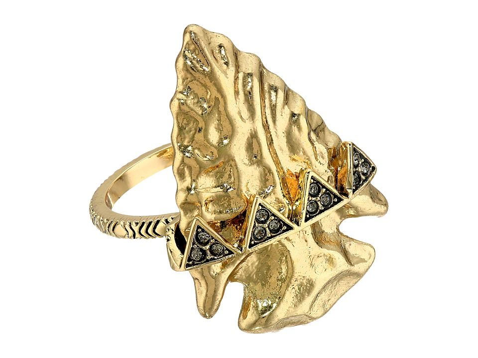 House of Harlow 1960 - Mojave Cocktail Ring (Gold) Ring