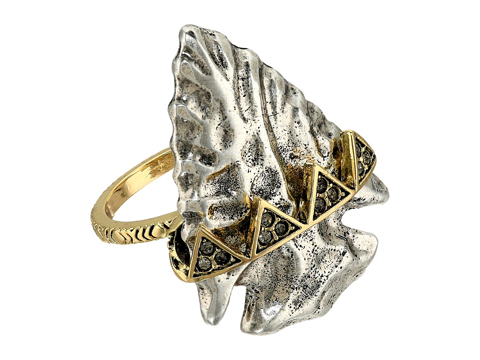 House of Harlow 1960 - Mojave Cocktail Ring (Silver) Ring