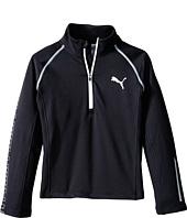 Puma Kids - Long Sleeve 1/4 Zip Top (Little Kids)