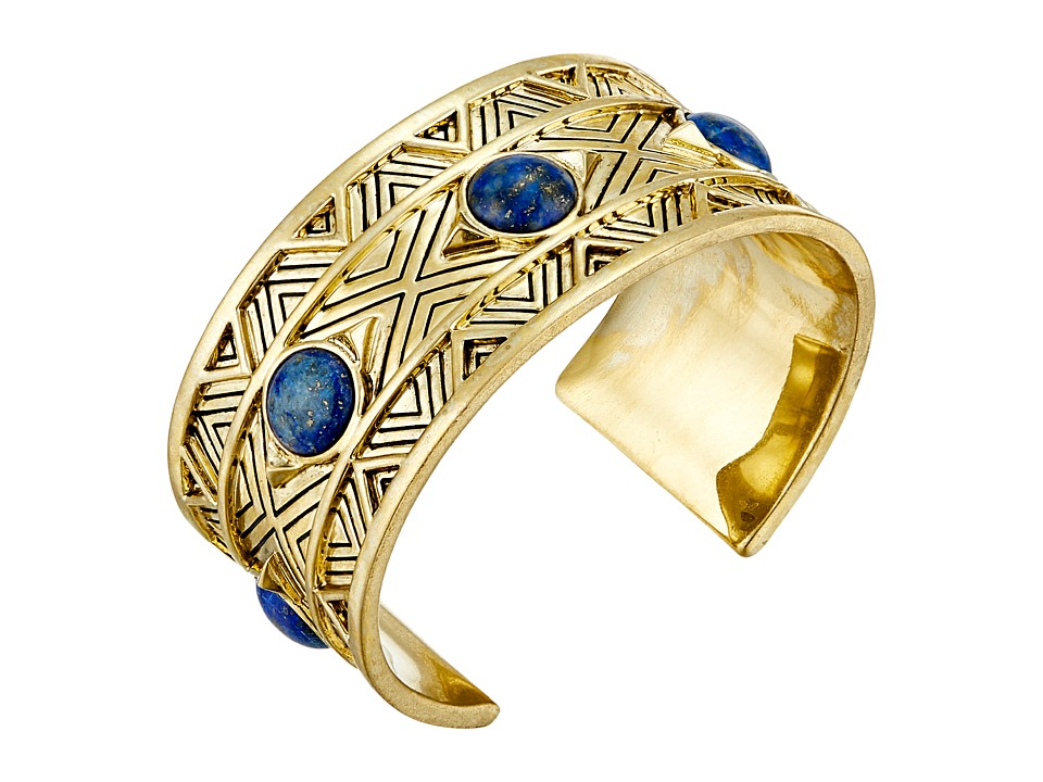 House of Harlow 1960 Dorelia Statement Cuff Bracelet Blue Bracelet