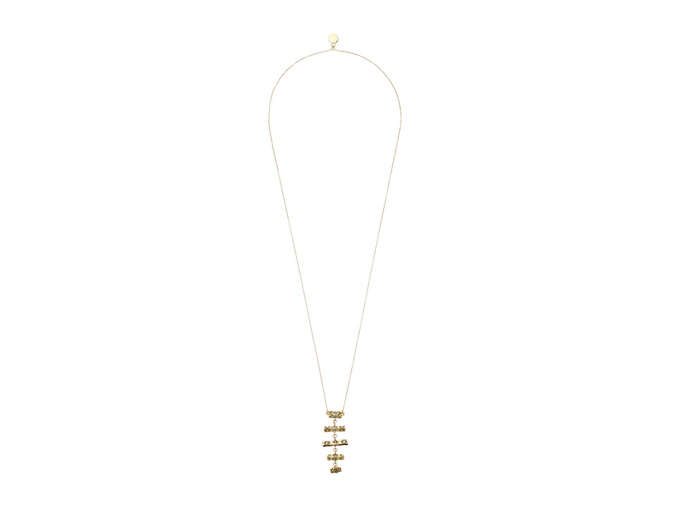 House of Harlow 1960 Anza Pendant Necklace Gold Necklace