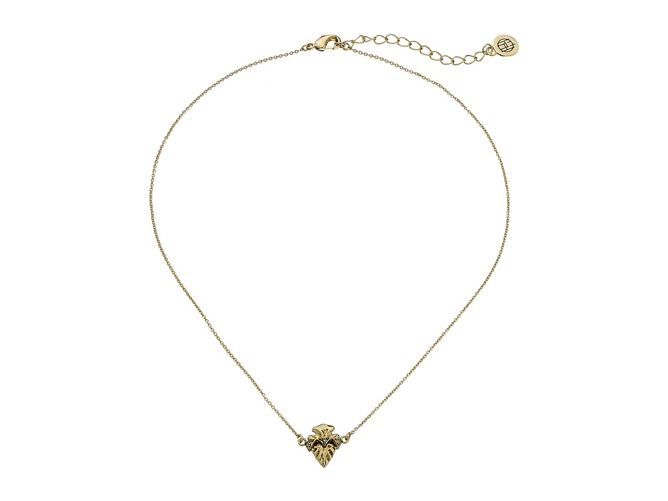 House of Harlow 1960 - Mini Mojave Pendant Necklace (Gold) Necklace