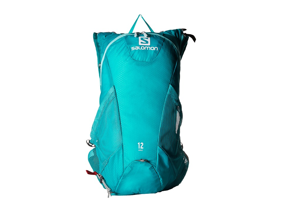 Salomon - Agile 12 Set (Teal Blue/Nightshade Grey) Backpack Bags