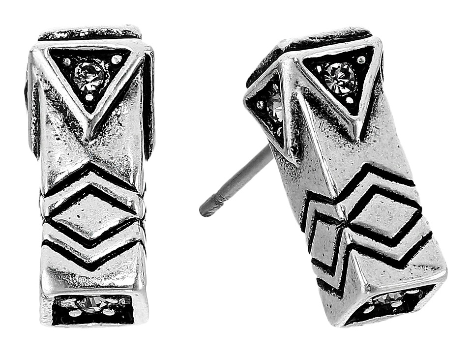 House of Harlow 1960 Anza Stud Earrings Silver Earring
