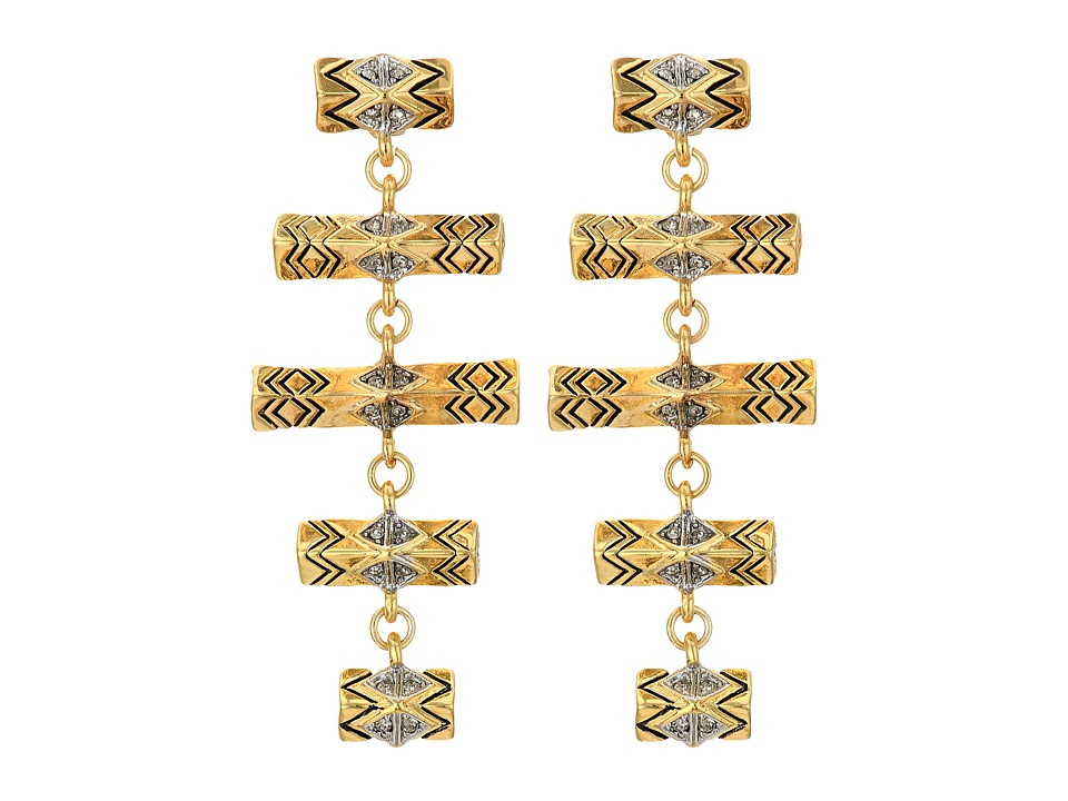 House of Harlow 1960 Anza Drop Earrings Gold/Silver Earring