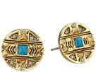Maricopa Coin Stud Earrings