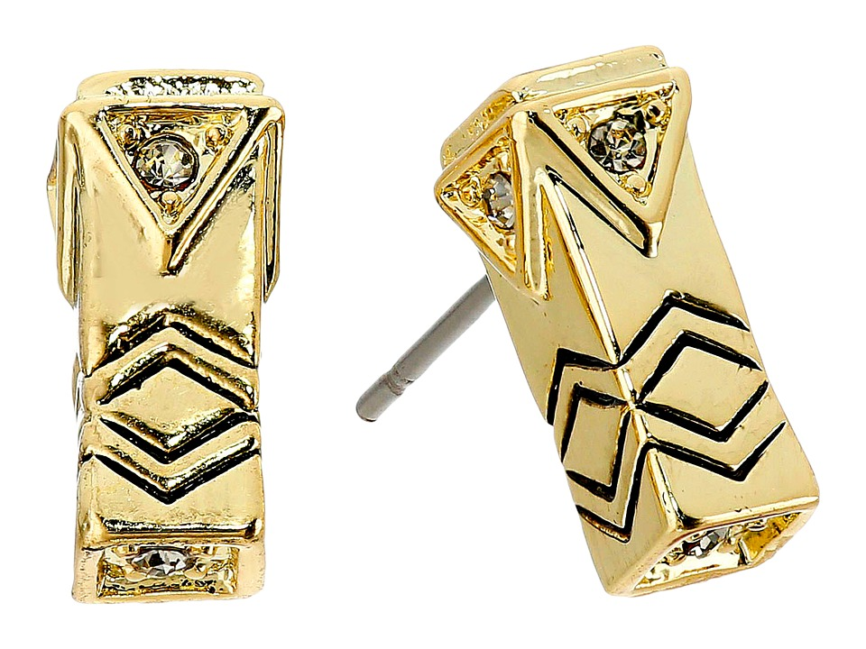 House of Harlow 1960 Anza Stud Earrings Gold Earring