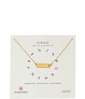 Dogeared - Virgo Zodiac Bar Necklace