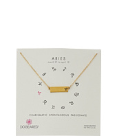 Dogeared - Aries Zodiac Bar Necklace