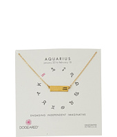 Dogeared - Aquarius Zodiac Bar Necklace
