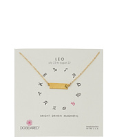 Dogeared - Leo Zodiac Bar Necklace
