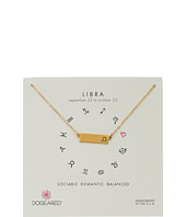Dogeared - Libra Zodiac Bar Necklace