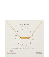 Dogeared - Gemini Zodiac Bar Necklace