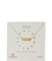 Dogeared - Taurus Zodiac Bar Necklace