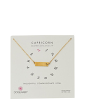 Dogeared - Capricorn Zodiac Bar Necklace