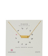 Dogeared - Pisces Zodiac Bar Necklace