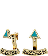 House of Harlow 1960 - Peak to Peak Ear Jacket Earrings