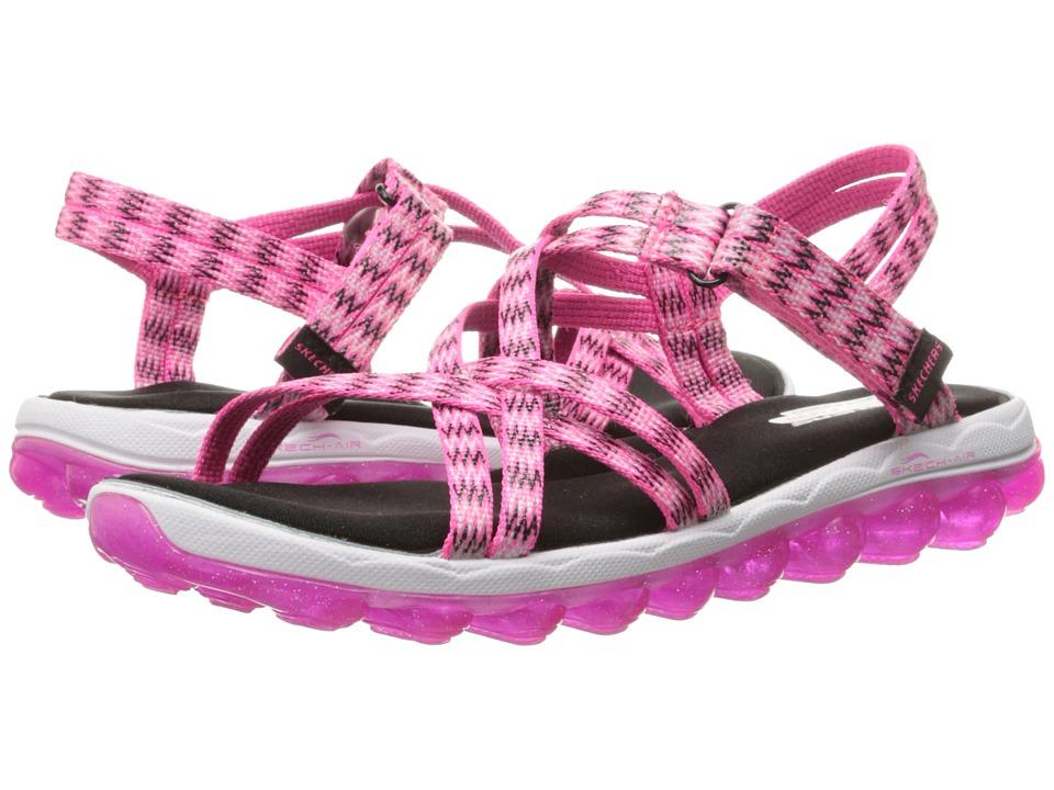SKECHERS KIDS Skech Air 80348L Little Kid/Big Kid Hot Pink/Black Girls Shoes