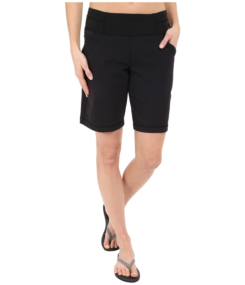 Lucy Do Everything Bermuda Lucy Black Womens Shorts
