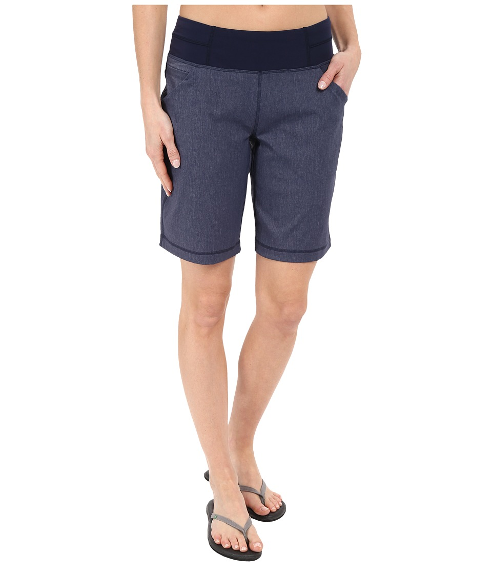 Lucy Do Everything Bermuda Lucy Navy Heather Womens Shorts