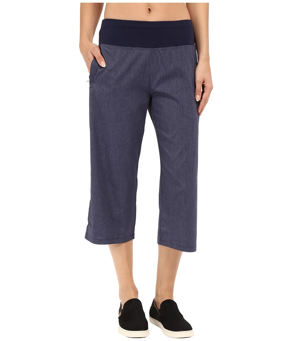 Lucy Do Everything Capris Lucy Navy Heather Womens Capri