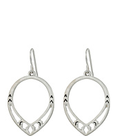 The Sak - Pierced Pear Hoop Earrings