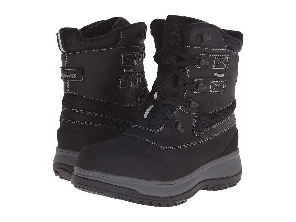 Maine Woods Frost Black Mens Boots