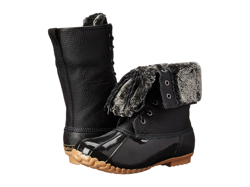 Maine Woods Adele Black Womens Boots