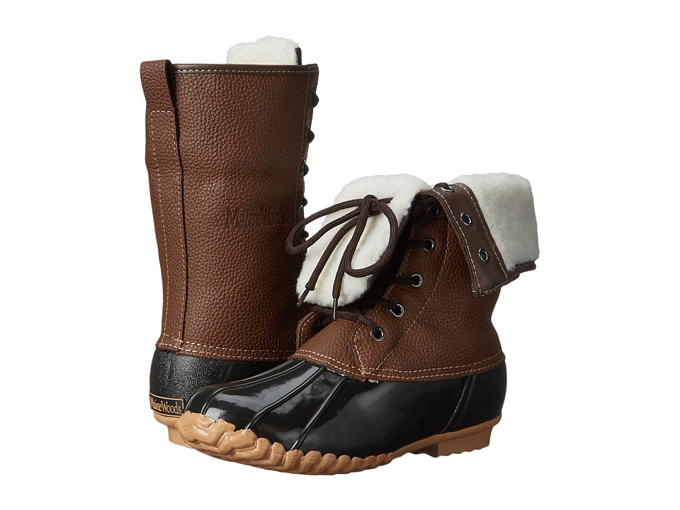 Maine Woods Adele Brown Womens Boots