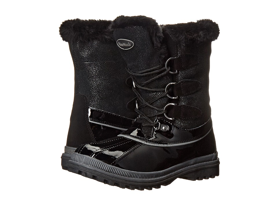 Maine Woods Frostline Black Womens Boots