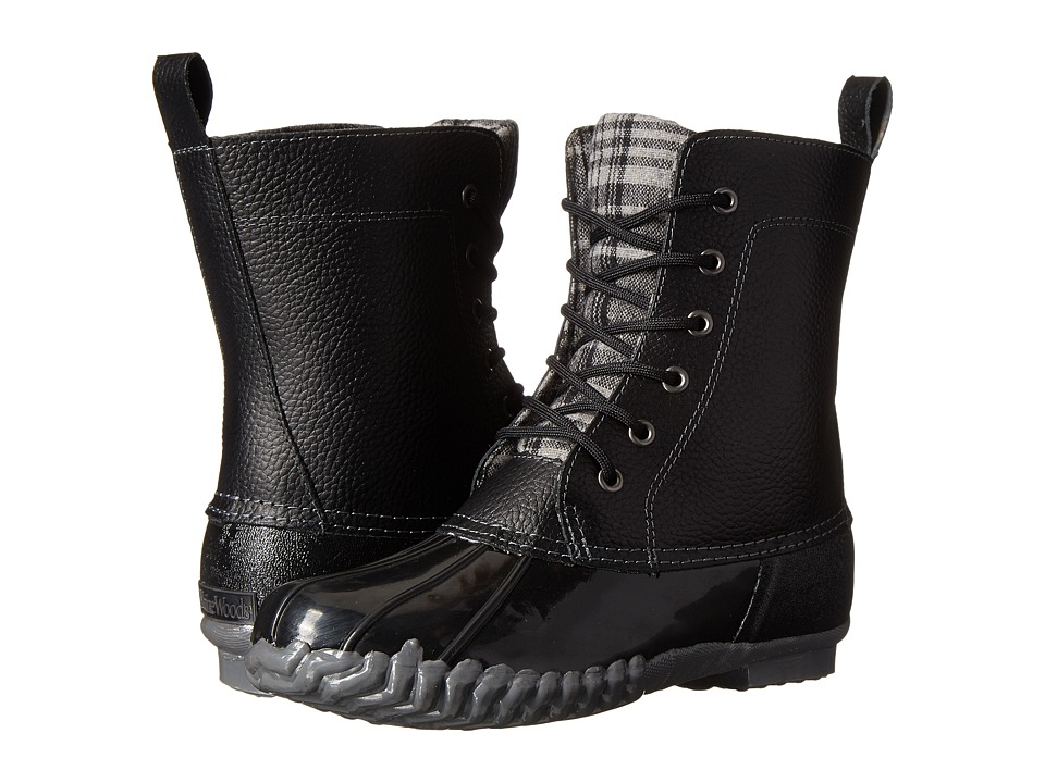 Maine Woods Lani Black/Black Womens Boots
