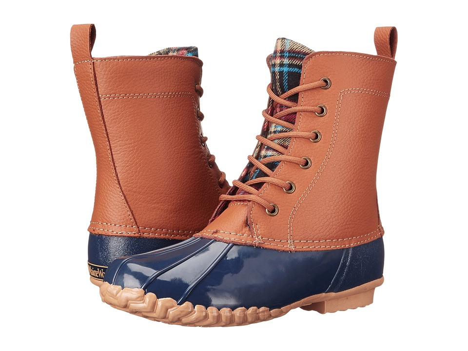 Maine Woods Lani Tan/Navy Womens Boots