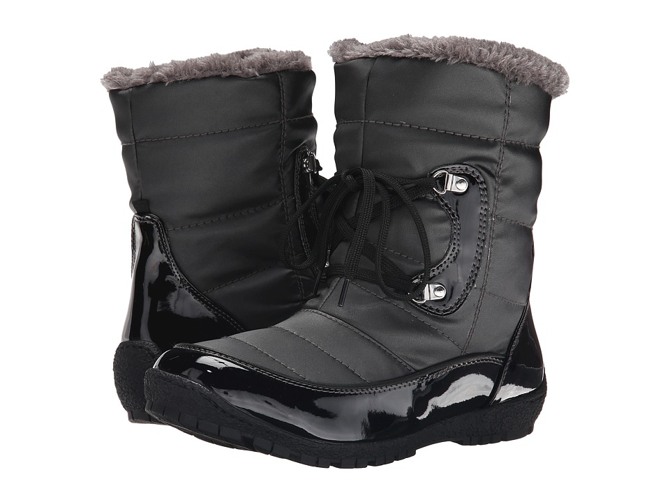 Maine Woods Kimberely Black/Dark Pewter Womens Boots