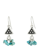 The Sak - Triangle Nugget Drop Earrings
