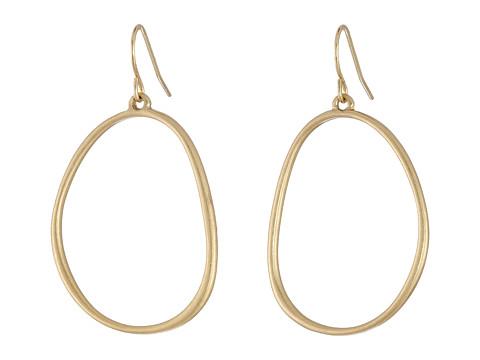 The Sak Delicate Hoop Earrings - Gold