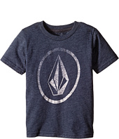 Volcom Kids - New Circle Short Sleeve Tee (Toddler/Little Kids)